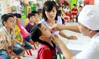 Gần 5 triệu trẻ em được uống bổ sung vitamin A đầu tháng 6 tới