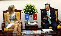 Bộ trưởng Lao động - Thương binh và Xã hội tiếp Hoàng hậu Vương quốc Hà Lan