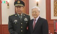 Tổng Bí thư Nguyễn Phú Trọng tiếp Phó Chủ tịch Quân ủy Trung ương Trung Quốc Phạm Trường Long