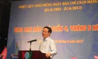 Báo chí luôn đồng hành với sự nghiệp cách mạng của dân tộc Việt Nam