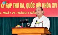 Thủ tướng Nguyễn Xuân Phúc tiếp xúc cử tri thành phố Hải Phòng