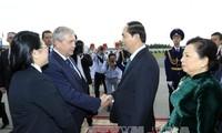 Chủ tịch nước Trần Đại Quang: Quan hệ Việt Nam - Belarus có nhiều tiềm năng để phát triển hơn nữa