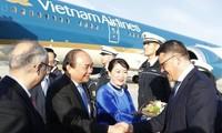 Thủ tướng Nguyễn Xuân Phúc tới Frankfurt, bắt đầu thăm Cộng hòa Liên bang Đức