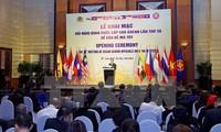 Khai mạc Hội nghị quan chức cấp cao ASEAN lần thứ 38 về phòng chống tội phạm ma túy