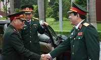 Tổng cục Chính trị QĐND Việt Nam và Tổng cục QĐND Lào tăng cường hợp tác, trao đổi kinh nghiệm