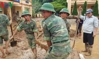 Dồn sức ổn định cuộc sống người dân bị lũ ở Yên Bái và Sơn La