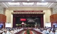 Khai mạc Hội nghị lần thứ 11 Ban Chấp hành Đảng bộ Thành phố Hồ Chí Minh khóa X