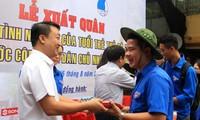 Màu áo xanh tình nguyện Việt Nam tại Lào
