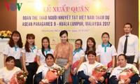 Đoàn thể thao người khuyết tật Việt Nam xuất quân tham dự Para Games 9