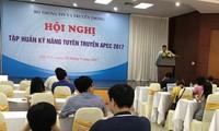 Hội nghị tập huấn kỹ năng tuyên truyền APEC 2017