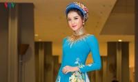 Á hậu Việt Nam Huyền My vào top 10 Hoa hậu Hoà bình thế giới 2017