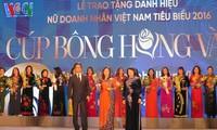 Lễ trao tặng danh hiệu nữ doanh nhân Việt Nam tiêu biểu