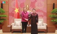 Chủ tịch Quốc hội Nguyễn Thị Kim Ngân tiếp Giám đốc Quốc gia mới UNDP tại Việt Nam