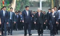 Tổng Bí thư Nguyễn Phú Trong dự tiệc trà cùng Tổng Bí thư, Chủ tịch Trung Quốc Tập Cận Bình