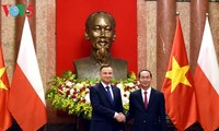 Chủ tịch nước Trần Đại Quang chủ trì Quốc yến chào mừng Tổng thống Cộng hòa Ba Lan