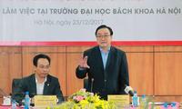 Trường Đại học Bách khoa Hà Nội khẳng định vị thế một trường đại học trọng điểm