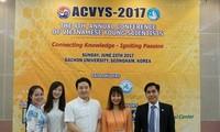 Sinh viên Việt Nam trường Đại học Gachon nỗ lực trong nghiên cứu khoa học và các hoạt động xã hội