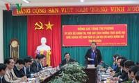 Phó Chủ tịch Thường trực Quốc hội Tòng Thị Phóng làm việc với lãnh đạo huyện Mường Nhé, Điện Biên