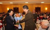 Bộ Công an gặp mặt các đại biểu ngành Y tế nhân Ngày Thầy thuốc Việt Nam