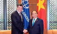 Thủ tướng Nguyễn Xuân Phúc tiếp Tổng Giám đốc điều hành Ngân hàng Thế giới (WB) Joaquim Levy