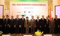 Việt Nam và Hàn Quốc tăng cường hợp tác toàn diện về môi trường
