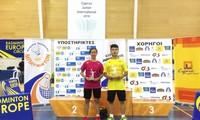 Nguyễn Hải Đăng vô địch giải cầu lông trẻ quốc tế tại Cộng hòa Síp