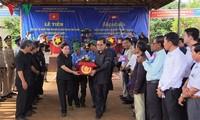 Hồi hương hài cốt liệt sỹ quân tình nguyện Việt Nam hy sinh ở Campuchia về nước