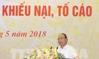 Thủ tướng Nguyễn Xuân Phúc chủ trì Hội nghị về giải quyết khiếu nại, tố cáo