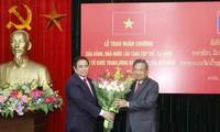 Vun đắp quan hệ đặc biệt Việt Nam-Lào ngày càng phát triển