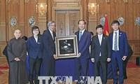 Chủ tịch nước Trần Đại Quang kết thúc tốt đẹp chuyến thăm cấp Nhà nước tới Nhật Bản