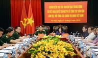 """Trưởng Ban Dân vận TƯ Trương Thị Mai: Công tác dân vận trong Quân đội luôn """"thực tâm, thực chất"""""""