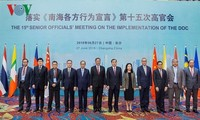 Phiên họp lần thứ 15 các quan chức cấp cao ASEAN - Trung Quốc về thực hiện DOC