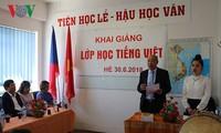 Khai giảng lớp học tiếng Việt mùa Hè tại Cộng hòa Séc