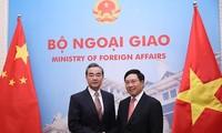 Bộ trưởng Ngoại giao Trung Quốc điện thăm hỏi các tỉnh miền Bắc của VN chịu thiệt hại do mưa lũ