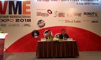 20 quốc gia, vùng lãnh thổ tham gia Triển lãm Vietnam Manufaturing Expo 2018