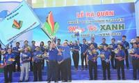 Thành phố HCM: Hơn 60.000 sinh viên tham gia Chiến dịch tình nguyện Mùa hè xanh năm 2018