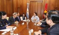 Việt Nam và Argentina thúc đẩy quan hệ đối tác mang tầm chiến lược