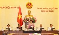 Phiên họp thứ 26 Ủy ban Thường vụ Quốc hội diễn ra từ ngày 8-13/8