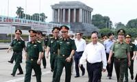 Thủ tướng Nguyễn Xuân Phúc kiểm tra công tác tu bổ định kỳ Công trình Lăng Chủ tịch Hồ Chí Minh