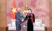 Chủ tịch Quốc hội tiếp Điều phối viên thường trú Liên hợp quốc, Trưởng đại diện UNICEF tại Việt Nam
