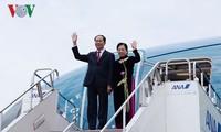 Chủ tịch nước Trần Đại Quang lên đường thăm cấp Nhà nước đến Ethiopia và Ai Cập