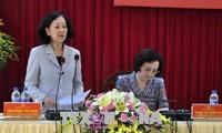 Trưởng Ban Dân vận Trung ương Truơng Thị Mai: Tỉnh Yên Bái tập trung nguồn lực cho giảm nghèo bền vững