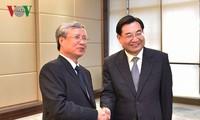 Thường trực Ban Bí thư Trần Quốc Vượng thăm và làm việc tại tỉnh Thiểm Tây, Trung Quốc