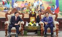 Lãnh đạo Lào đánh giá cao kết quả hợp tác giữa hai hệ thống tòa án Việt - Lào