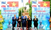 Khánh thành tượng đài Tổng thống đầu tiên của nước Cộng hòa Dominicana tại Hà Nội