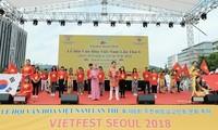 Rực rỡ sắc màu trong lễ hội văn hóa Việt Nam tại Hàn Quốc lần thứ 8