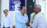Phó Thủ tướng Thường trực Trương Hòa Bình làm việc tại tỉnh Long An