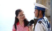 Chiến sĩ đảo Đá Đông vững vàng bám trụ nơi đầu sóng