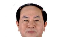 Lãnh đạo nhiều quốc gia trên thế giới gửi điện chia buồn về việc Chủ tịch nước Trần Đại Quang từ trần