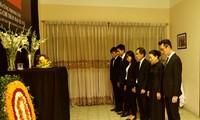 Đại sứ quán Việt Nam tại Bangladesh tổ chức Lễ viếng và mở Sổ tang Chủ tịch nước Trần Đại Quang